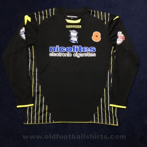 Birmingham City Goalkeeper football shirt 2013 - 2014