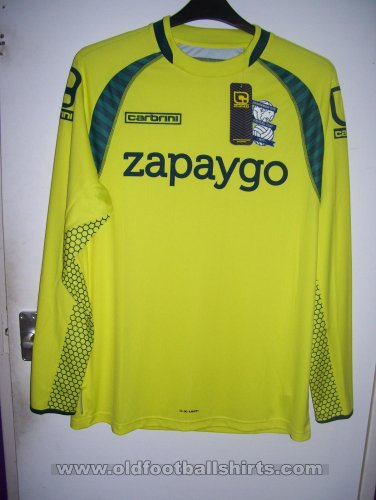 Birmingham City Goalkeeper football shirt 2014 - 2015