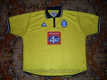 Birmingham City Away football shirt 2001 - 2002