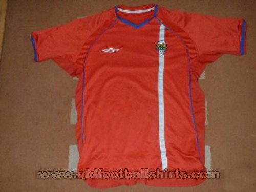 Linfield Away football shirt 2003 - 2004