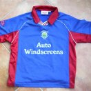 Linfield football shirt 1999 - 2000