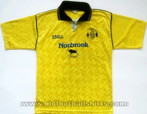 Newry City AFC Away football shirt 1990 - 1991