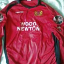 Mickleover Sports football shirt 2008 - 2009