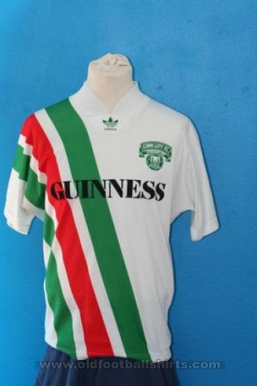 Cork City Home futbol forması 1991 - 1992