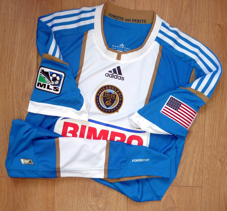 sports shoes f4122 b487e Philadelphia Union Away football shirt 2012 - 2015.