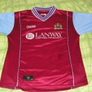 Burnley football shirt 2003 - 2004