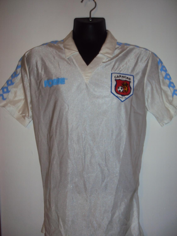 Old Caracas FC football shirts and soccer jerseys