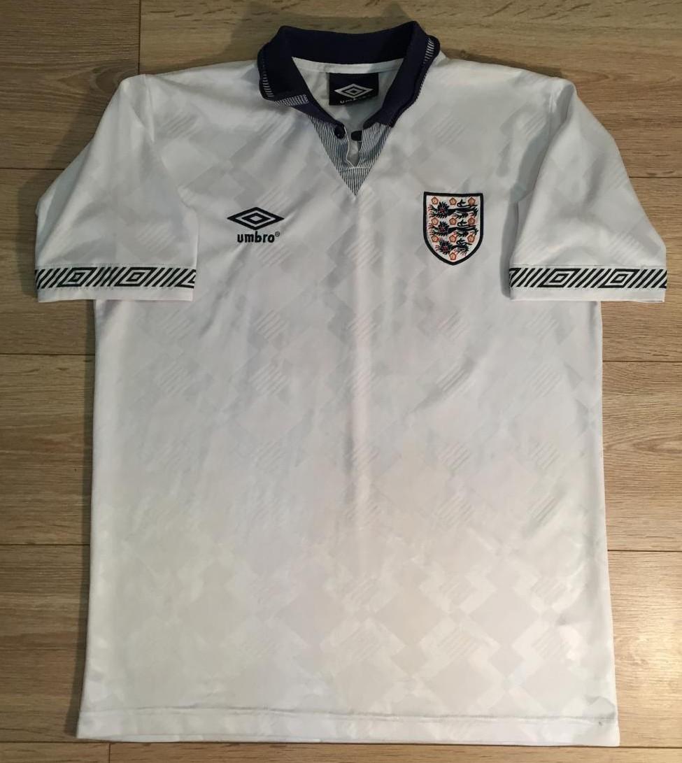 England Retro Replicas Fussball Trikots 1990 1992