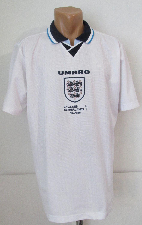 England Repliche Retro maglia di calcio 1996.