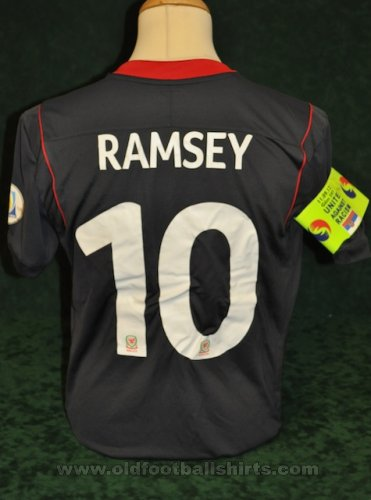 Wales Away football shirt 2011 - 2012