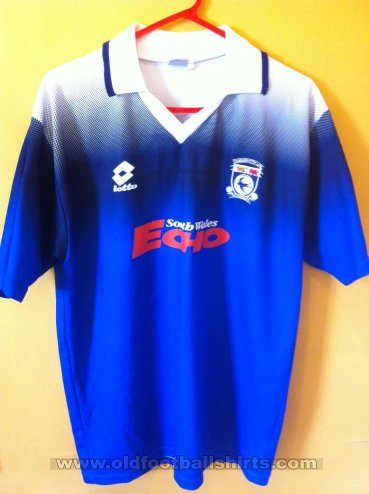Cardiff City Home football shirt 1996 - 1997