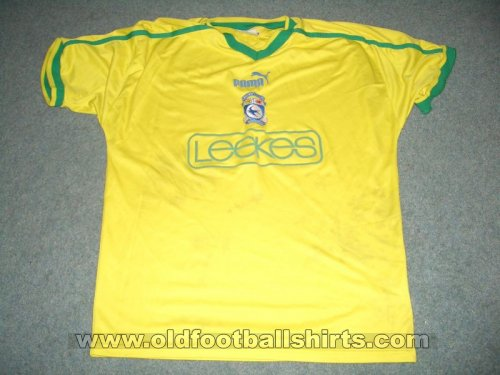 Cardiff City Third football shirt 2002 - 2003