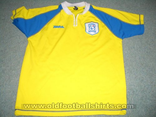 Cardiff City Uit  voetbalshirt  1998 - 1999