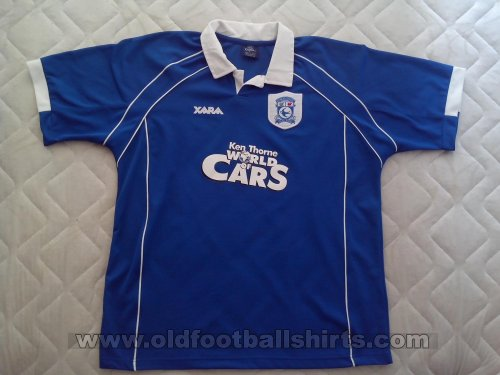 Cardiff City Home football shirt 2000 - 2001