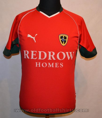 Cardiff City Away football shirt 2004 - 2005
