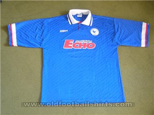 Cardiff City Home football shirt 1994 - 1995