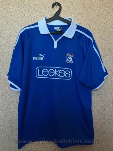 Cardiff City Home football shirt 2002 - 2003