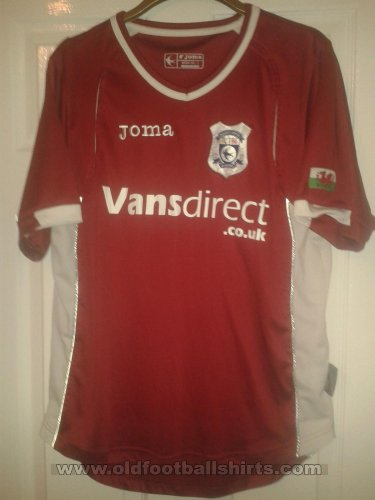 Cardiff City Away futbol forması 2008 - 2009