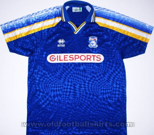 Cardiff City Home football shirt 1997 - 1998