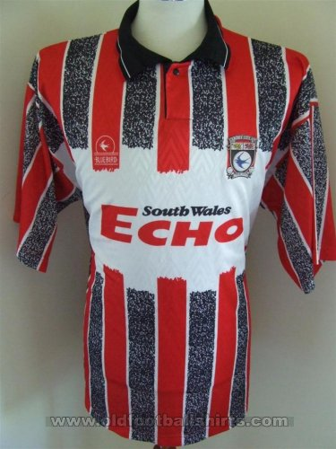 Cardiff City Away football shirt 1993 - 1994