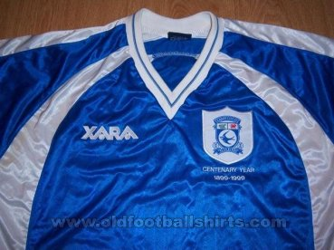 Cardiff City Home football shirt 1999