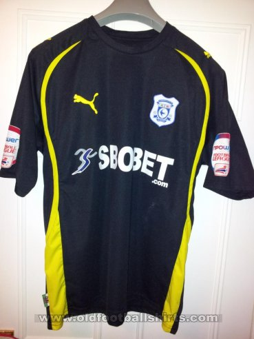 Cardiff City Away football shirt 2010 - 2011