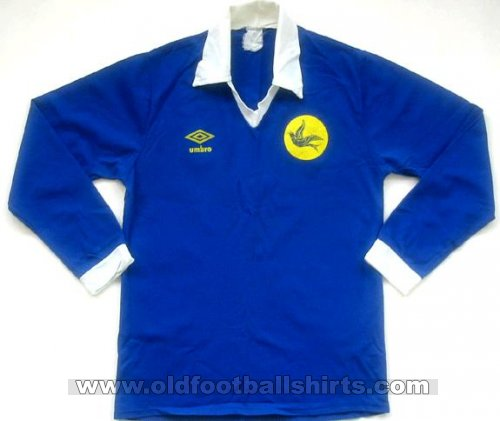 Cardiff City Home football shirt 1980 - 1983