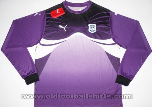 Cardiff City Goalkeeper football shirt 2010 - 2011