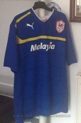 Cardiff City Away football shirt 2012 - 2013