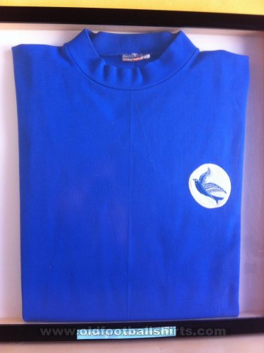 Cardiff City Home baju bolasepak 1969 - 1970