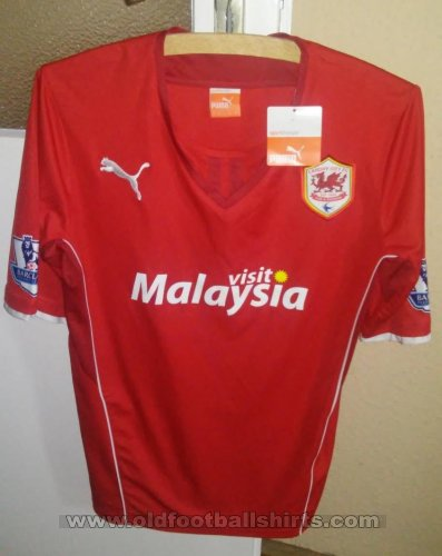 Cardiff City Home football shirt 2013 - 2014