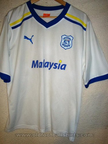Cardiff City Away football shirt 2011 - 2012