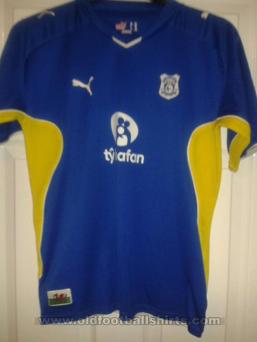 Cardiff City Special football shirt 2009 - 2010