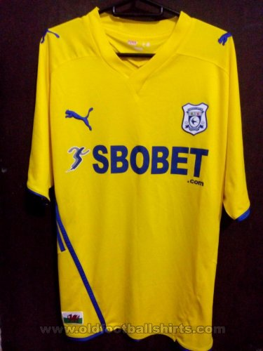 Cardiff City Away football shirt 2009 - 2010