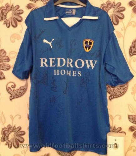 Cardiff City Home football shirt 2004 - 2005