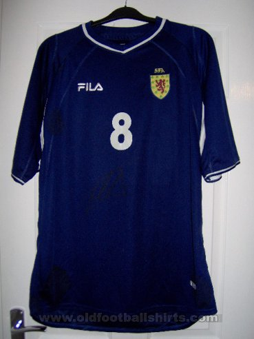 Scotland Home football shirt 2000 - 2002