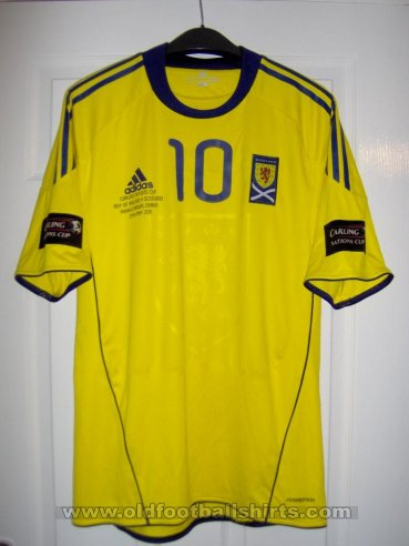 Scotland Away football shirt 2011 - 2012