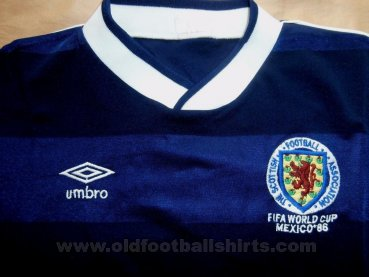 Scotland Home football shirt 1986 - 1987