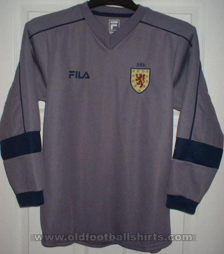 Scotland Keeper  voetbalshirt  2001 - 2003