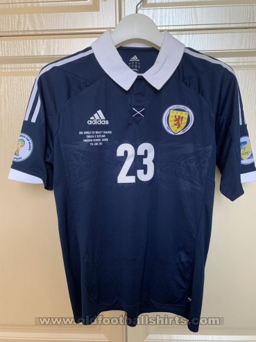Scotland Home Maillot de foot 2012 - 2014