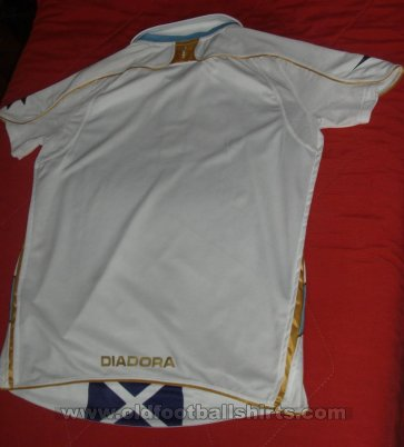 Scotland Away football shirt 2007 - 2008