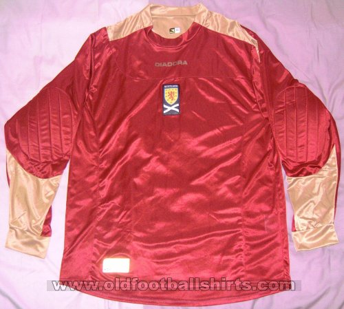 Scotland Goalkeeper football shirt 2006 - ?