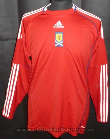 Scotland Goalkeeper football shirt 2010 - 2011