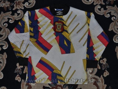 Scotland Goalkeeper football shirt 1994