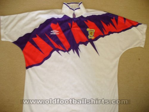 Scotland Away football shirt 1991 - 1993