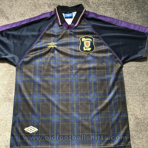 Scotland Home football shirt 1994 - 1996