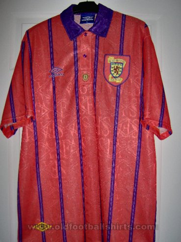 Scotland Away football shirt 1993 - 1994