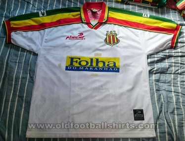 Sampaio Correa FC Away football shirt 2002 - 2004