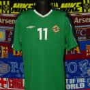 Northern Ireland football shirt 2004 - 2005