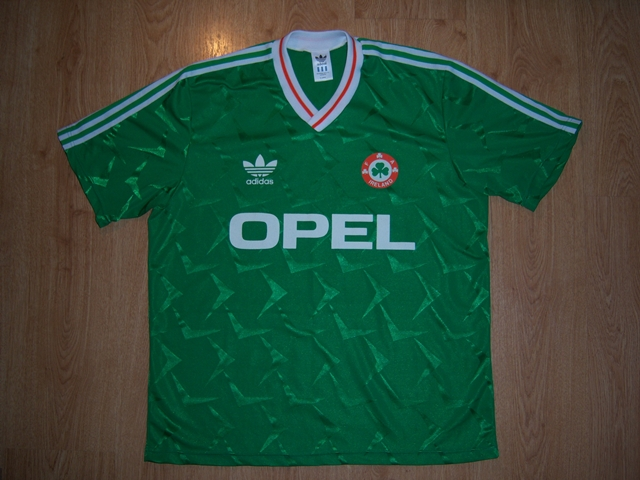 29395212f Republic of Ireland Home maglia di calcio 1990 - 1991.